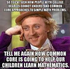 Common Core Math Meme - tls at home the learning space lafayette ca