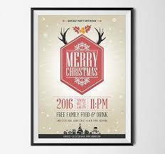 10 best free christmas party flyer poster design template in ai