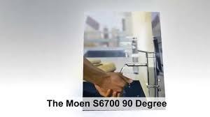 moen 90 degree kitchen faucet moen s6700 90 degree one handle low arc bathroom faucet reviews