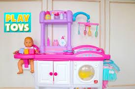 baby doll nursery care set change