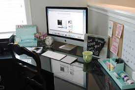Unique Computer Desk Ideas Office Work Office Desk Organization Ideas With Modern Style