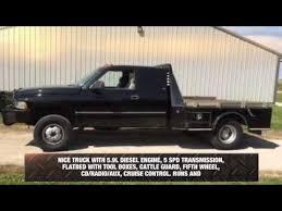 1997 dodge ram 3500 diesel for sale 1997 dodge ram 3500 flatbed truck for sale