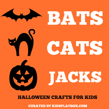Fun And Easy Halloween Crafts by Halloween Crafts For Kids Bat Crafts Cat Crafts And Jack O