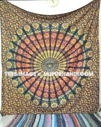 Hippie Curtains Hippie Tapestry Decorative Indian Curtains Boho Mandala Dorm Tapestry