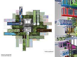 Urban Gardening New York Vertical Farm Prototype Plan Vertical Core Pinterest