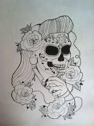 sugar skull 1 by erinevenight on deviantart
