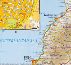 Map Syria by Map Of Syria And Lebanon Reise Know How U2013 Mapscompany
