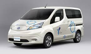 nissan work van e nv200 electric van revealed