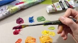color wheel paint mixing primary colors secondary colors