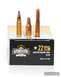 Barnes Reload Data How To Handload The 22 Tcm Shooting Times