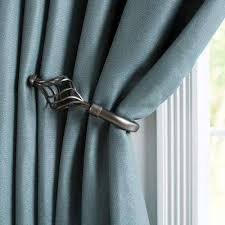 Tie Backs Curtains Curtain Holdbacks Tie Backs Curtain Rods Hardware The Home