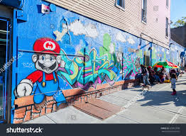new york city october 11 2015 stock photo 373912978 shutterstock new york city october 11 2015 graffiti of super mario in hunts point