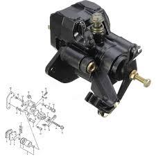 rear brake caliper for yamaha yfz yfm 87 06 banshee 350 warrior