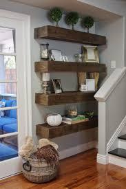 Wall Shelves Ideas Living Room Living Room Rustic Wall Shelves Amazing Zen Inspired Living