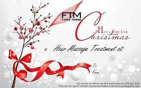 massage voucher christmas gift ideas fibre tense massage fibre tense