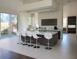 san francisco brushed nickel bar stools kitchen modern with