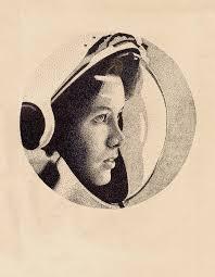 female astronaut by extrakings on deviantart