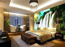 Designer Bedroom Wallpaper Waterfall For Bedroom Custom Wallpaper River Waterfall For Living