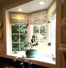 kitchen bay window treatment ideas window treatments for bay window dynamicpeople club