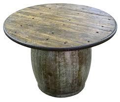 Metal Drum Accent Table West Elm Metal Drum Side Table Black Round Tables U2013 Monikakrampl Info