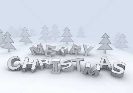 marry christmas 3d letters stock photo mike kiev 368887