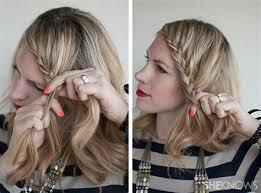 tutorial mengikat rambut kepang collection of body and mind tutorial rambut kepang pita langkah 1