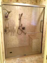 Bathroom Shower With Seat Shower Seat Ideas Artsport Me