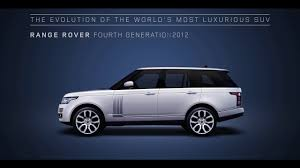 mazda range of vehicles range rover u2013 the evolution of the world u0027s most luxurious suv