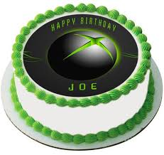 xbox cake topper systems edible cake topper cupcake toppers edible