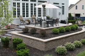 Building A Raised Patio Furlong Pa Small Patio R U0026r Caddick Landscape Design