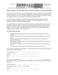 hipaa form for employees templates fillable u0026 printable samples