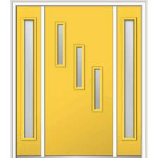 yellow front door yellow front door with stained gl home pinterest