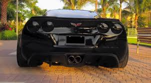 corvette zr6x zr6x wide kit for c6 corvette on