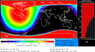 Northern Lights Map Geomagnetic Storm Slams Earth Causing Radio Signal Blackouts And