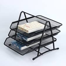 Desk Organizer Sorter by Aliexpress Com Buy 1pcs Office 3 Tier Document File Paper Tray