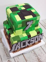 mine craft cakes nashville minecraft birthday cake