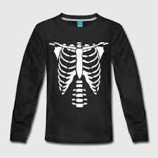skeleton torso halloween costume t shirts t shirt spreadshirt