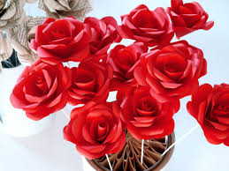 paper roses paper roses crafted from recycled or new papers for decor or events