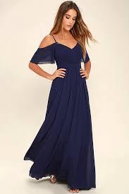 blue dress stunning maxi dress gown navy blue dress formal dress 84 00