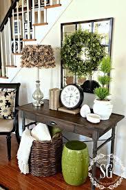 15 Easy Spring Entryway Decor Ideas Shelterness