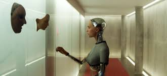 ex machina characterization through architecture cinematography