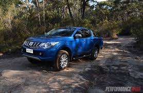 mitsubishi triton offroad 2016 mitsubishi triton review gls u0026 exceed video