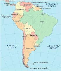 climate south america list of the countries