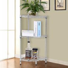 solid teak wood 3 tier corner shower caddy bathroom storage shelf