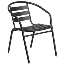 Black Outdoor Furniture by Metal Patio Furniture