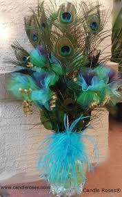 best 25 peacock centerpieces ideas on peacock theme