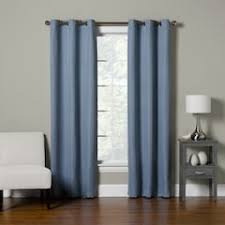 Picture Window Drapes Blue Curtains U0026 Drapes Window Treatments Home Decor Kohl U0027s
