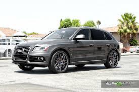audi q5 rims and tires 2015 audi q5 22 blaque bd 3 wheels graphite falken