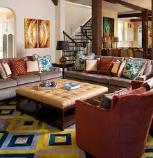 Eclectic House Decor - great mid century modern eclectic living room on with home