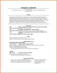 free resume templates for word 2007 word resume ms format